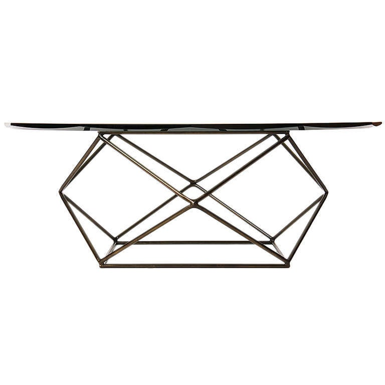 Geometric low table at 1stdibs for Geometric coffee table