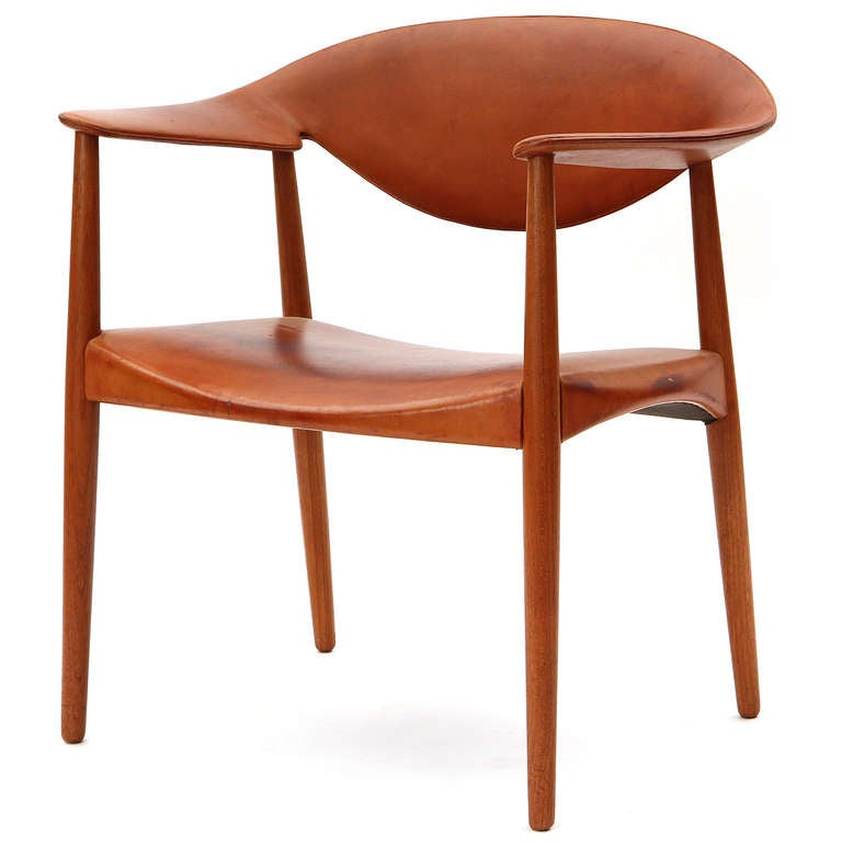 The Metropolitan Chair by Larsen and Madsen at 1stdibs