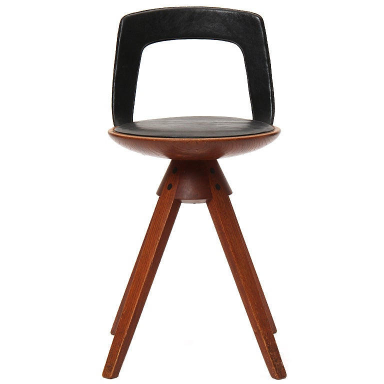 Petite Chair rare petite chairedvard and tove kindt-larsen at 1stdibs
