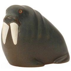 Ceramic Walrus By Arabia