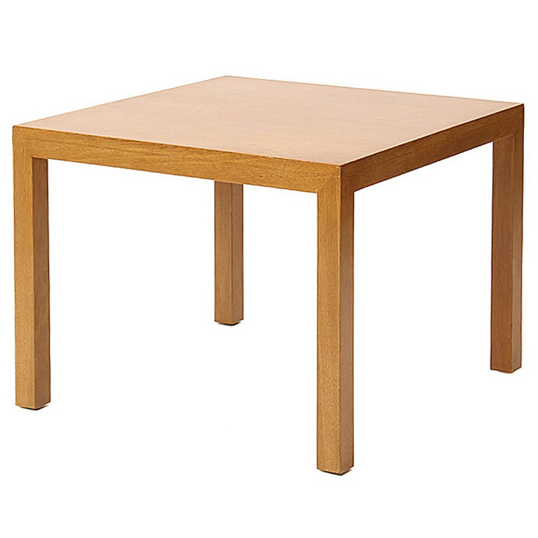 simple end table by dunbar at 1stdibs