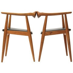 Oak Armchair by Hans J. Wegner