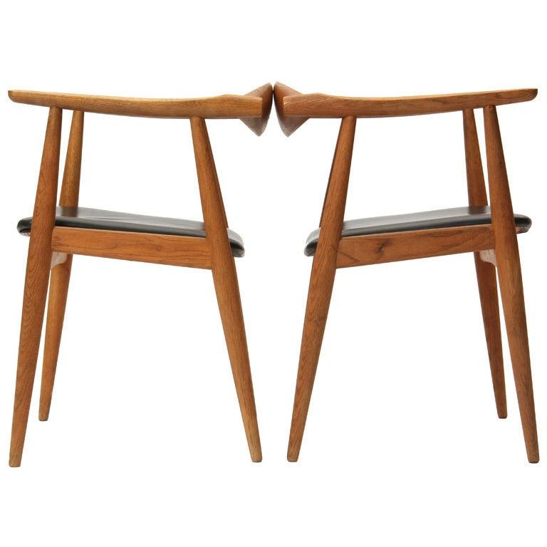 Oak Armchair by Hans J. Wegner