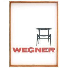 Vintage Wegner Poster in Wyeth Frame