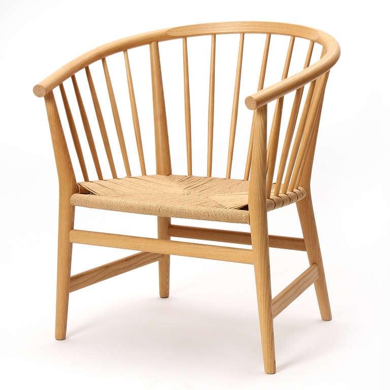 Armchair by Hans J. Wegner at 1stdibs