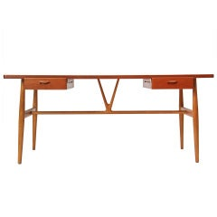 The Wishbone Desk By Hans Wegner