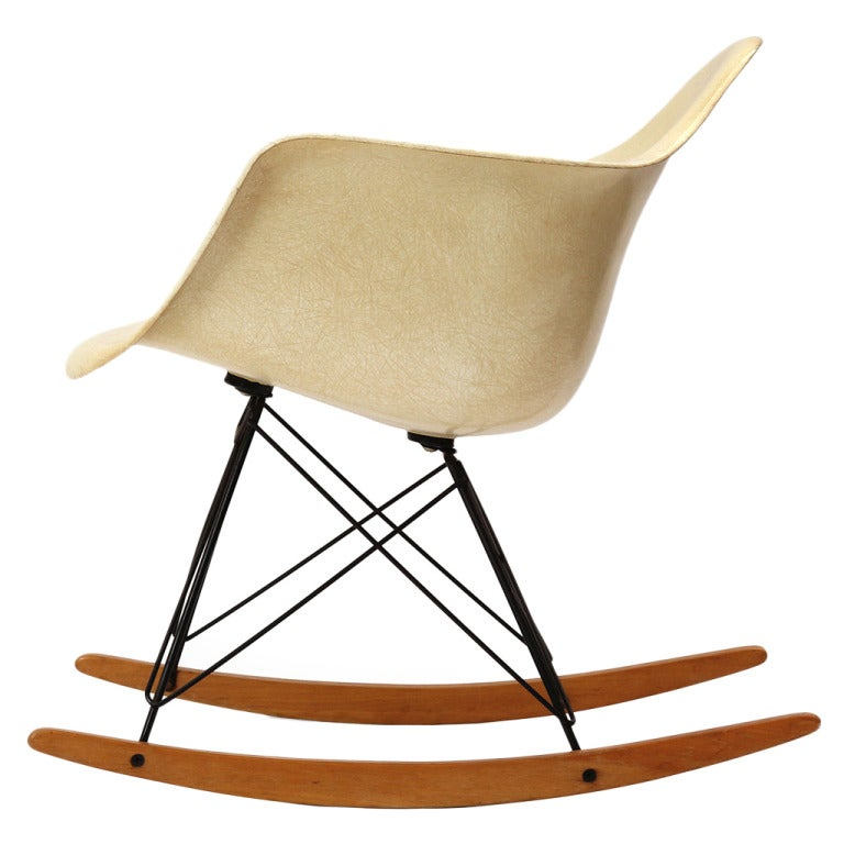 rocking chair by charles and eames at 1stdibs