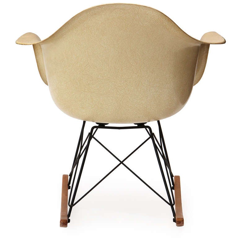 rocking chair by charles and ray eames at 1stdibs
