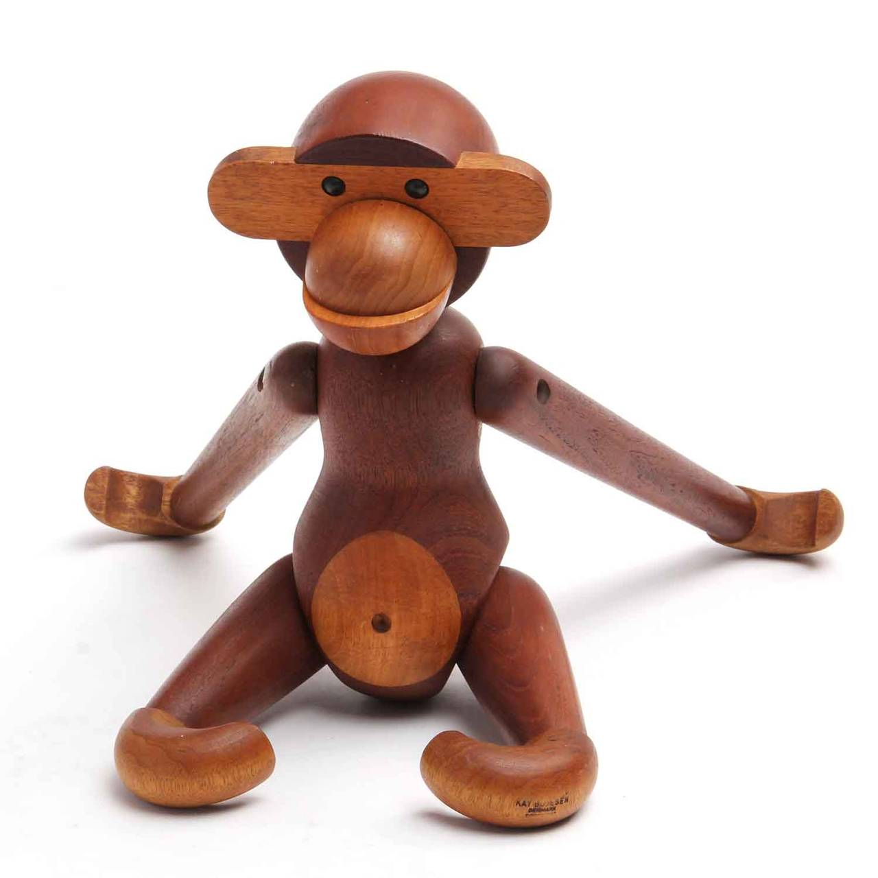 Mid-20th Century Articulated Monkey by Kay Bojesen For Sale