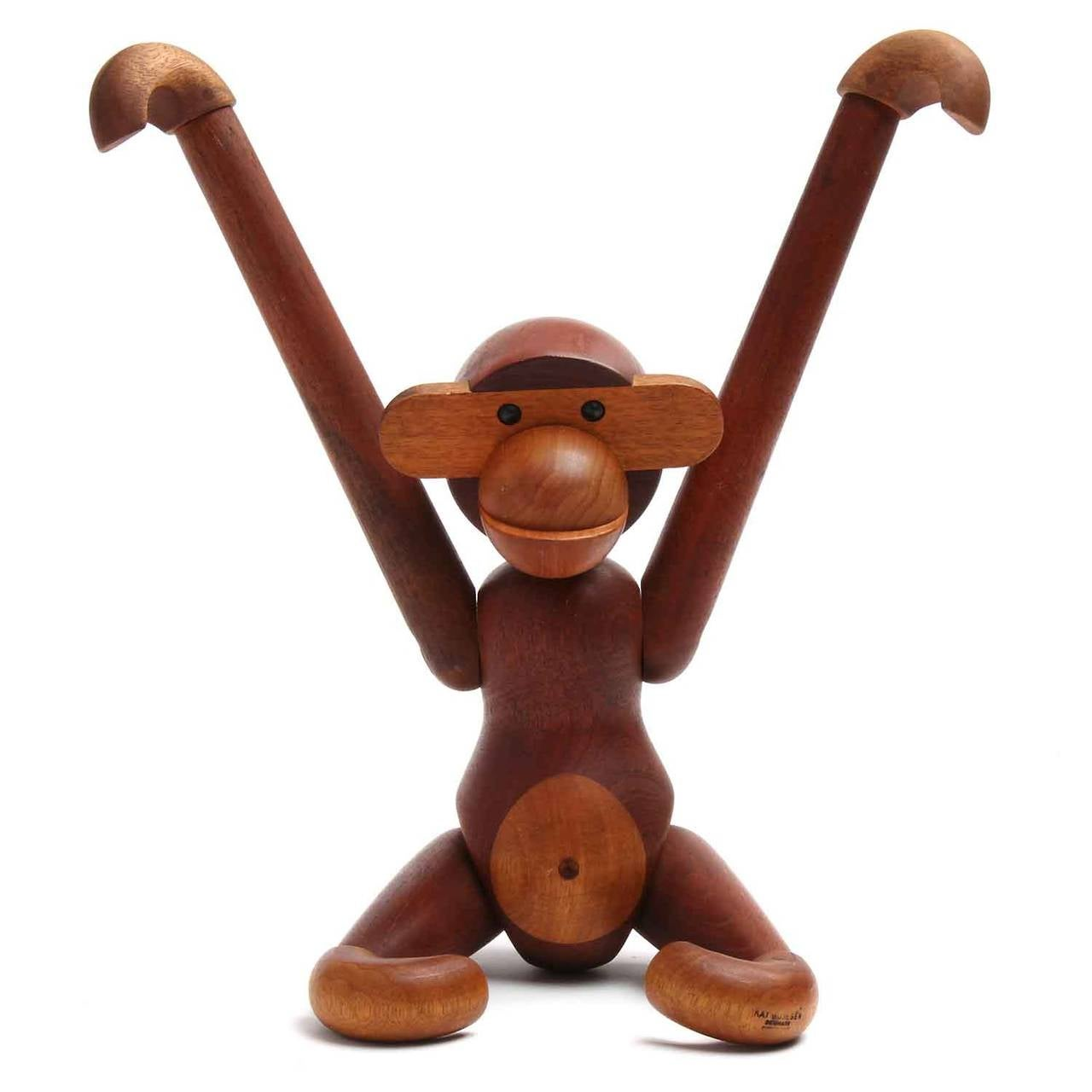 Articulated Monkey by Kay Bojesen For Sale 1