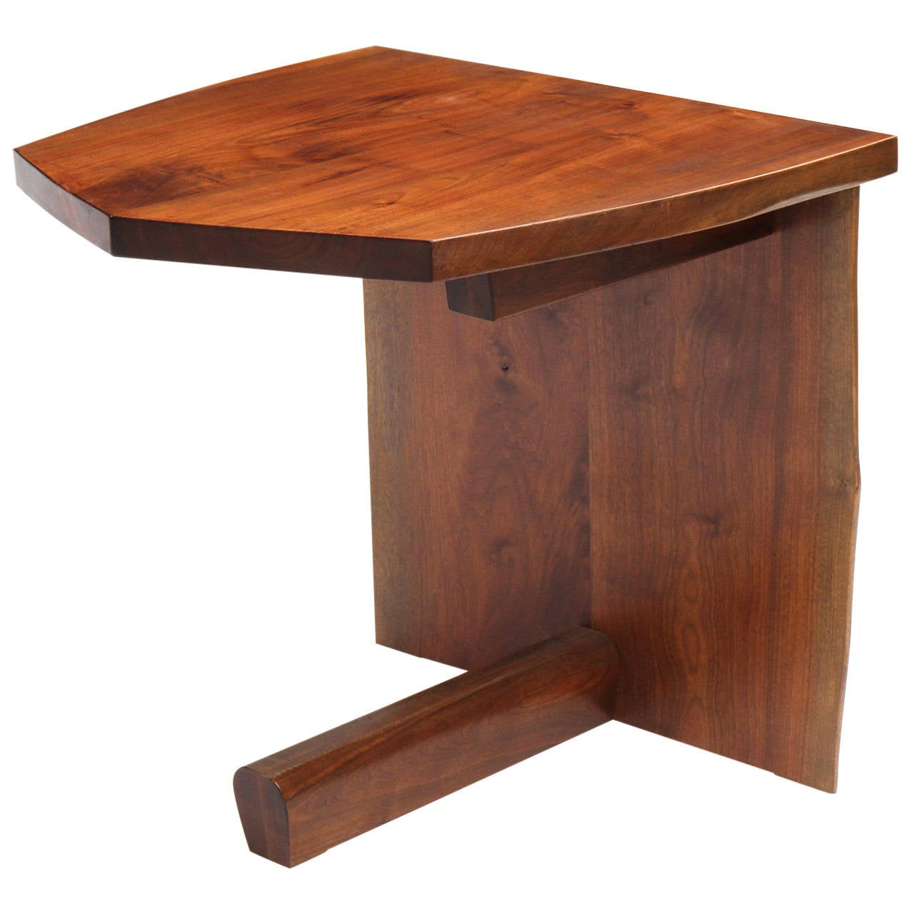 Unique end table by george nakashima at 1stdibs for Interesting tables
