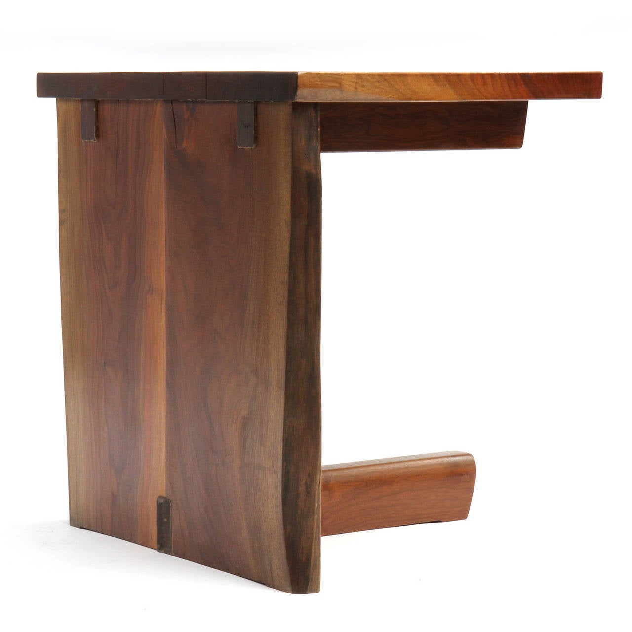 unique end table by george nakashima at 1stdibs