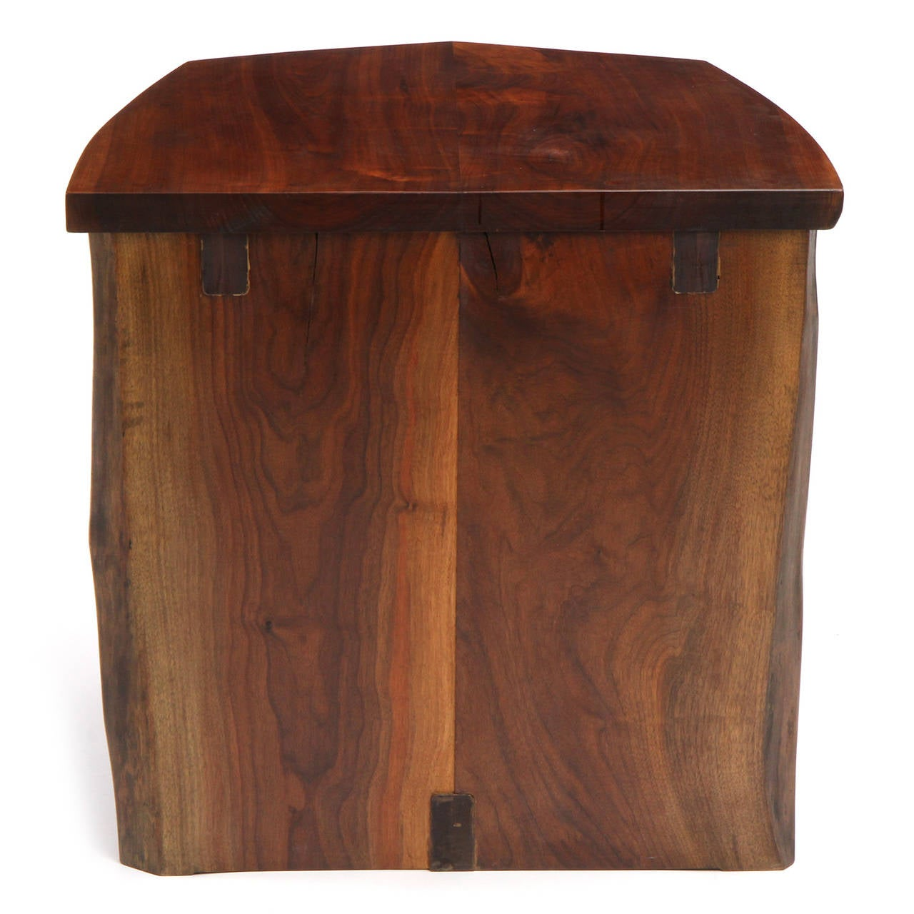 unique end table by george nakashima image 4