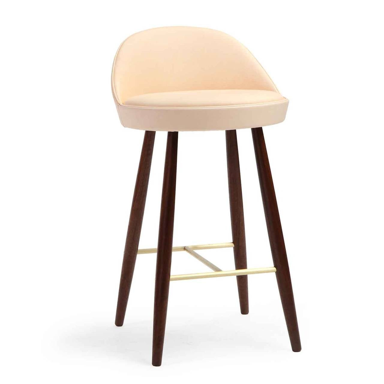 Superb Low Backed Bar Stools For Sale At 1stdibs