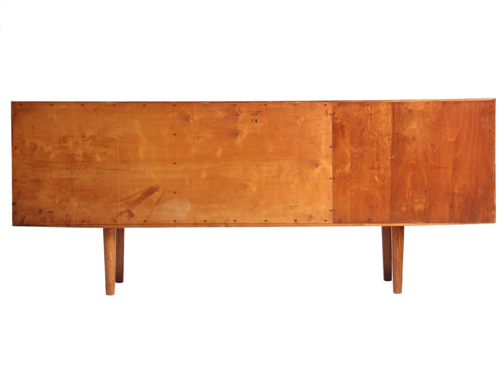 Danish Oak Cabinet by Hans J. Wegner For Sale