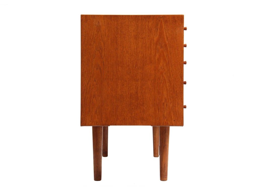 Mid-20th Century Oak Cabinet by Hans J. Wegner For Sale