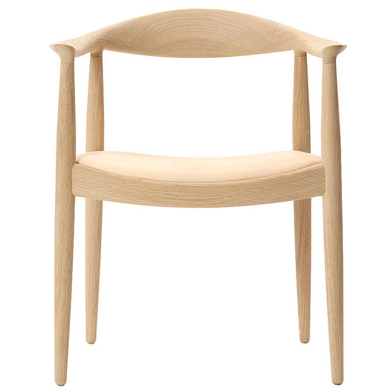 Round Chair By Hans J. Wegner For Sale At 1stdibs