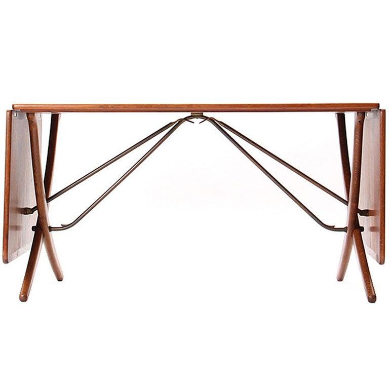 Drop-Leaf Table by Hans J. Wegner