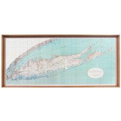 1913 Map of Long Island, NY