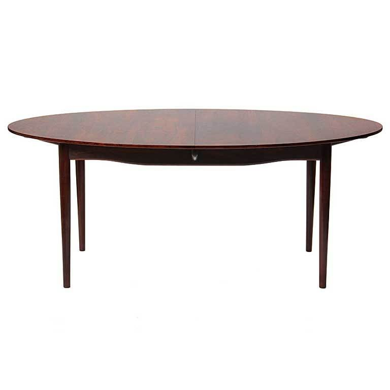 A Rosewood Dining Table by Finn Juhl For Sale
