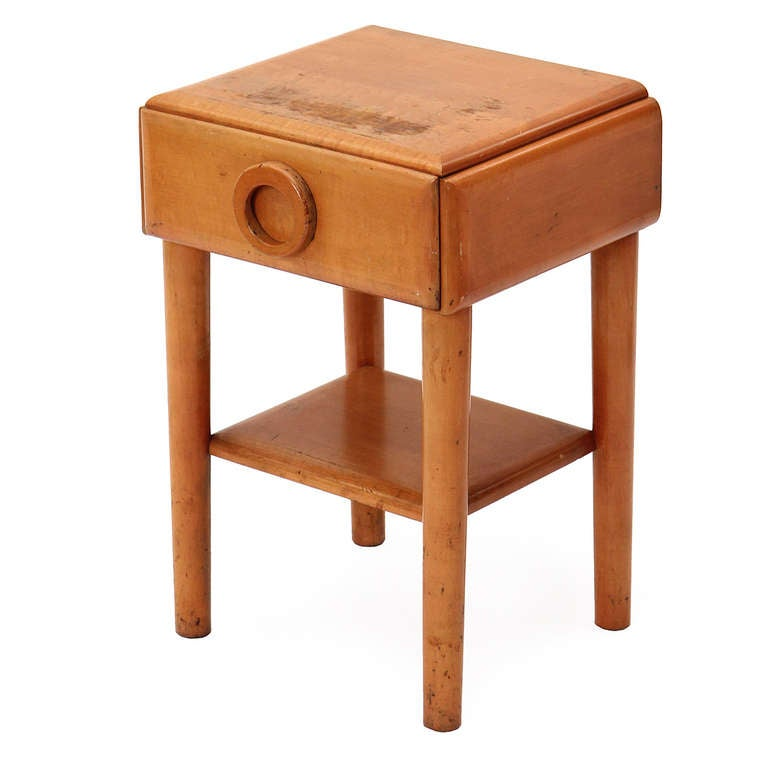 American Modern Night Stand By Russel Wright For Sale At