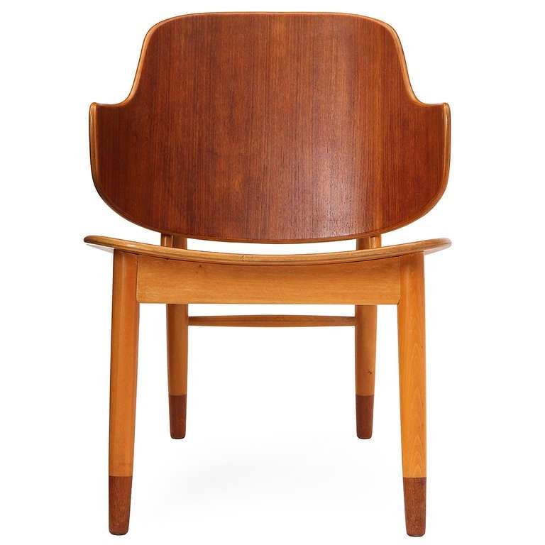 Mid-20th Century Lounge Chair by Ib Kofod-Larsen For Sale