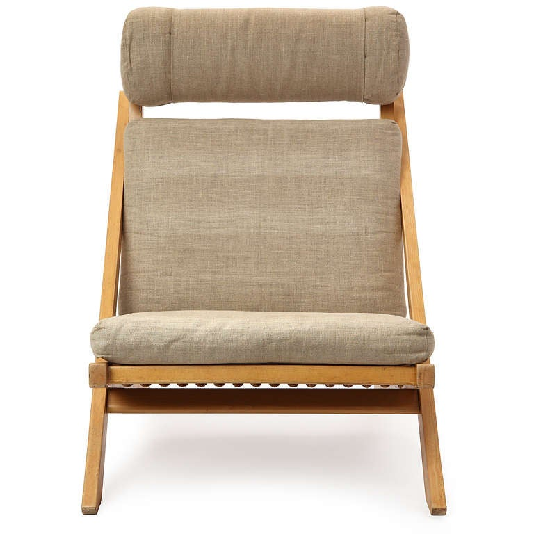 Danish Lounge Chair by Hans J. Wegner For Sale