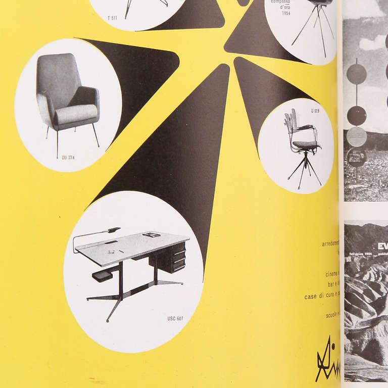 Tiger Oak Desk by Gio Ponti For Sale 2