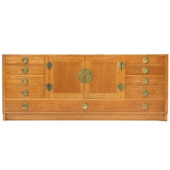 A Walnut Sideboard by Edward Wormley