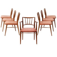 Set of Twelve Dining Chairs by Edward Wormley for Dunbar