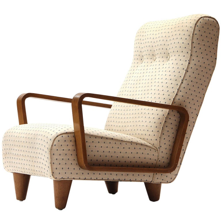 Lounge Chair By Edward Wormley 1