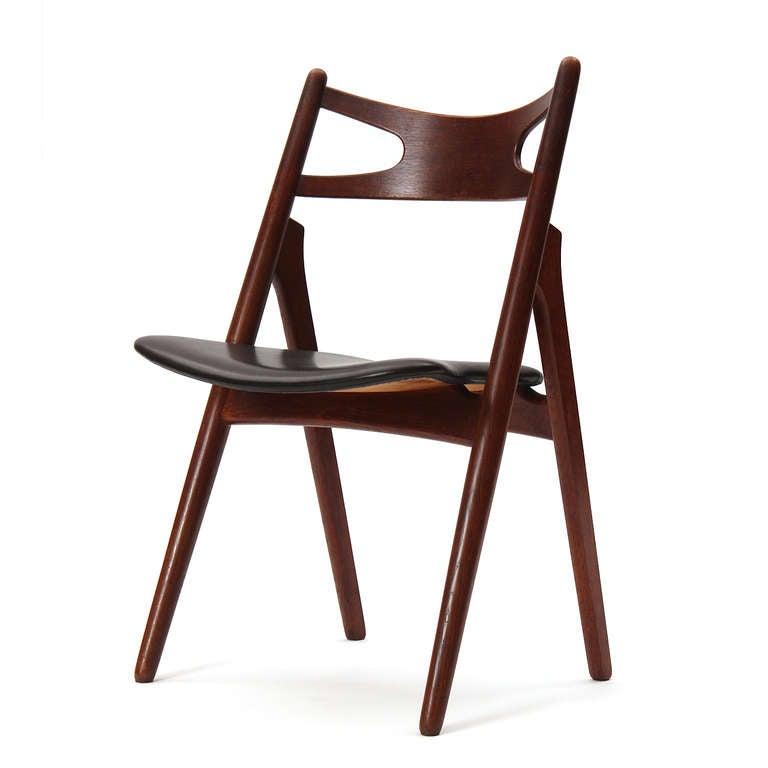 Sawbuck Chairs by Hans J. Wegner 3