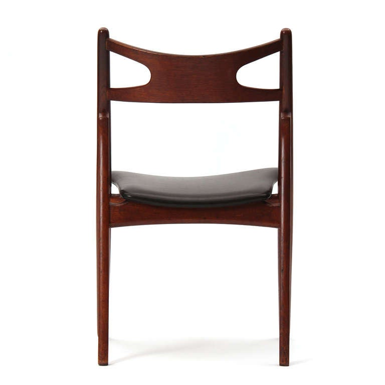 Mid-20th Century Sawbuck Chairs by Hans J. Wegner For Sale