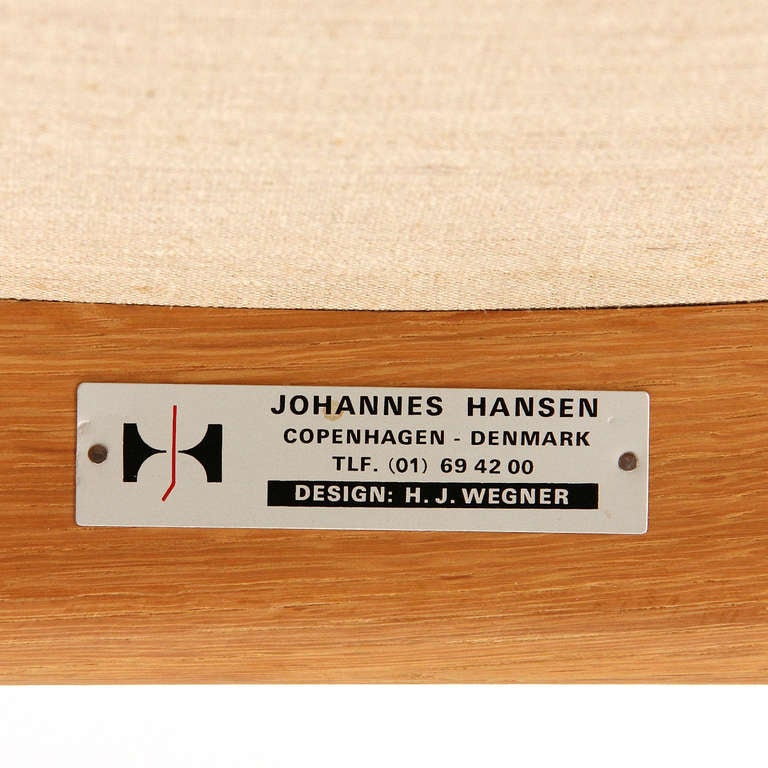 Lounge Chair by Hans J. Wegner 8
