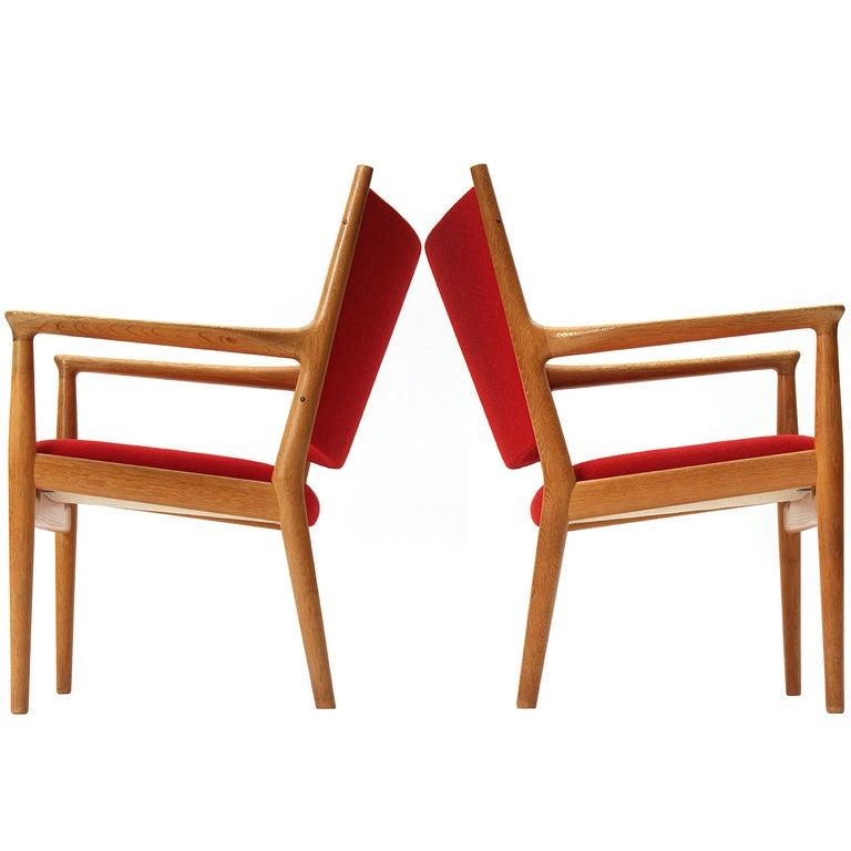 Lounge Chair by Hans J. Wegner For Sale