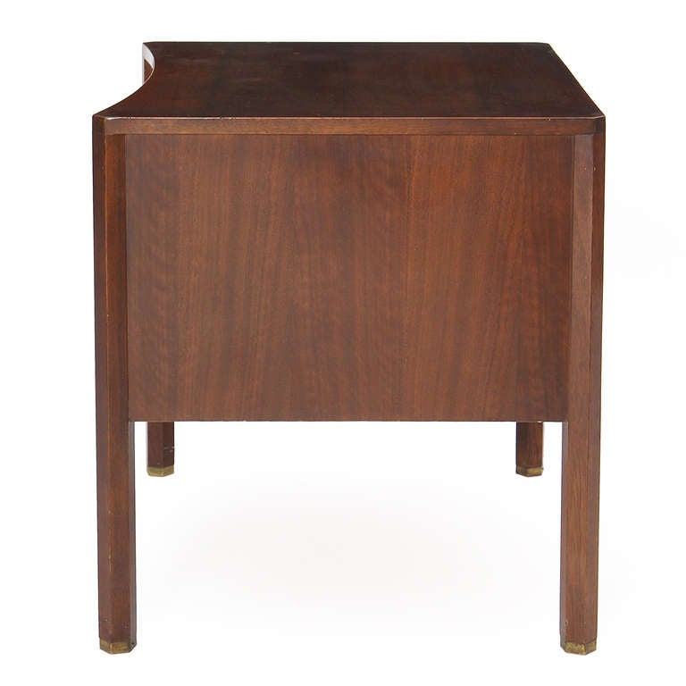 Brass Nightstands by Edmond Spence For Sale
