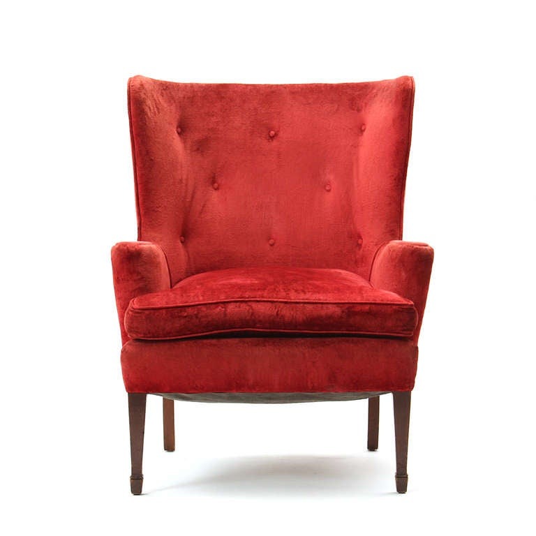 Pair of Wingback Chairs 2
