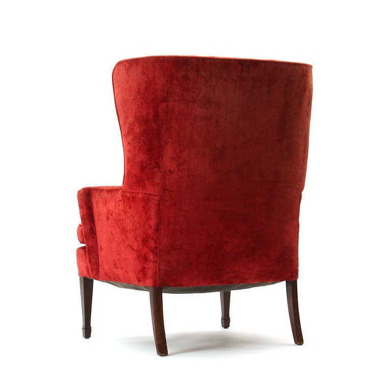 Pair of Wingback Chairs 5