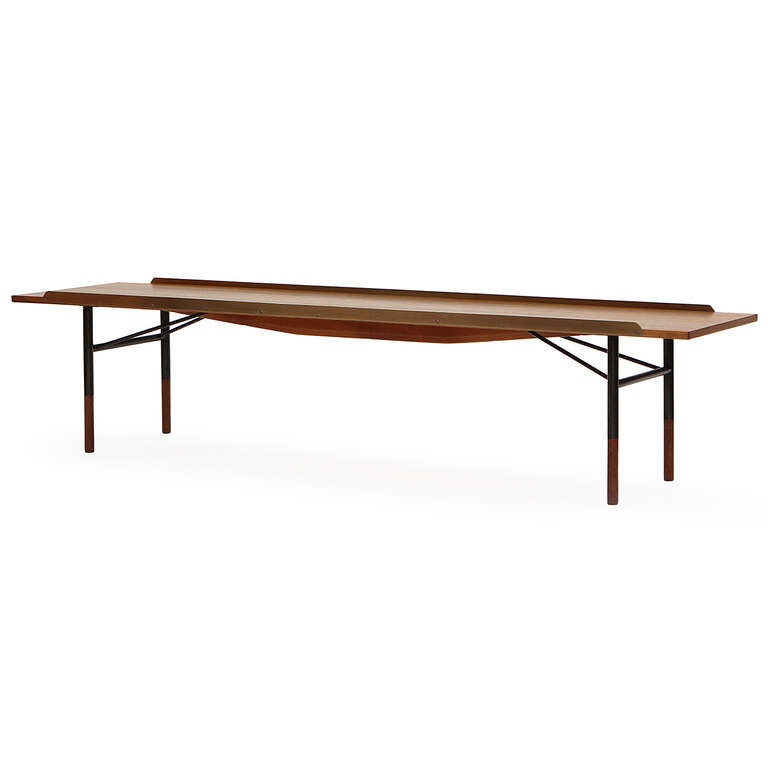 Low Table Bench By Finn Juhl For Sale At 1stdibs