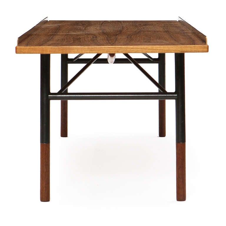 Brass Low Table / Bench by Finn Juhl For Sale