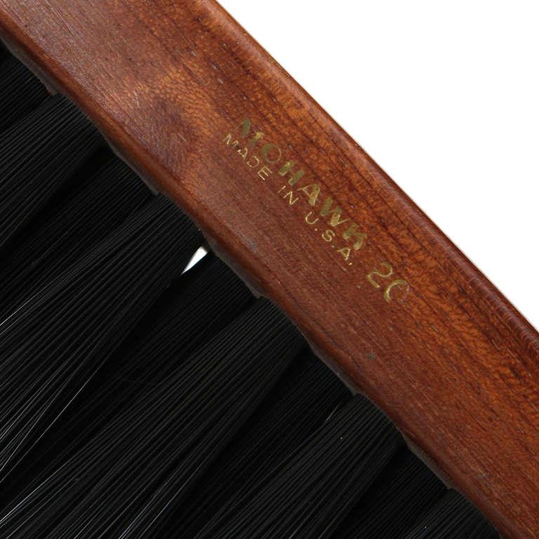 Walnut Horsehair Brush For Sale