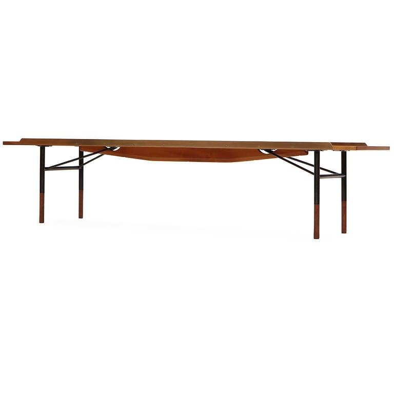 Scandinavian Modern Low Table / Bench by Finn Juhl For Sale