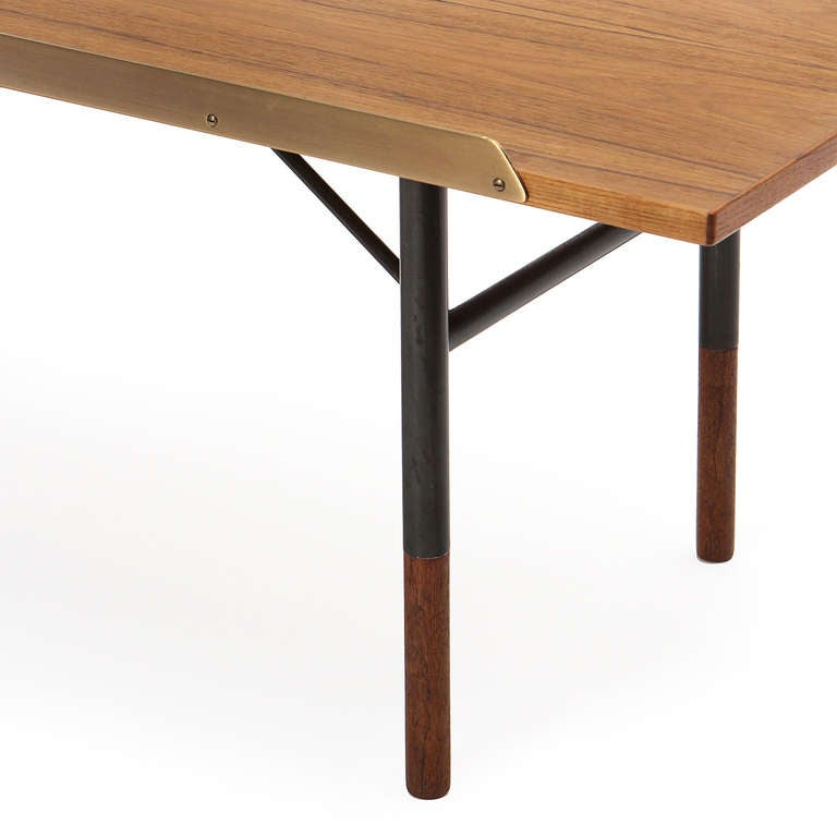 Low Table / Bench by Finn Juhl In Good Condition For Sale In New York, NY