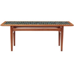 Danish Tile-Topped Table
