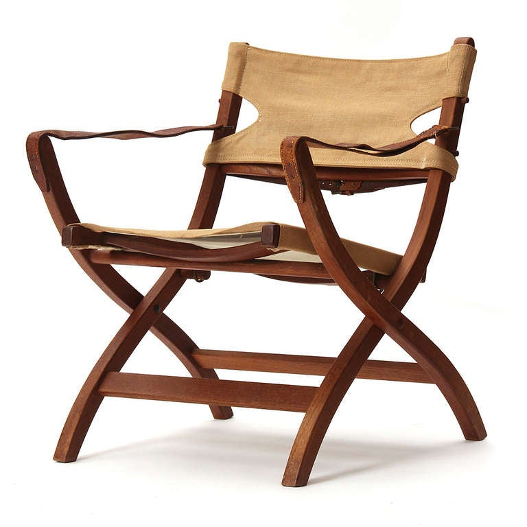 Campaign Chair By Poul Hundevad For Sale At 1stdibs