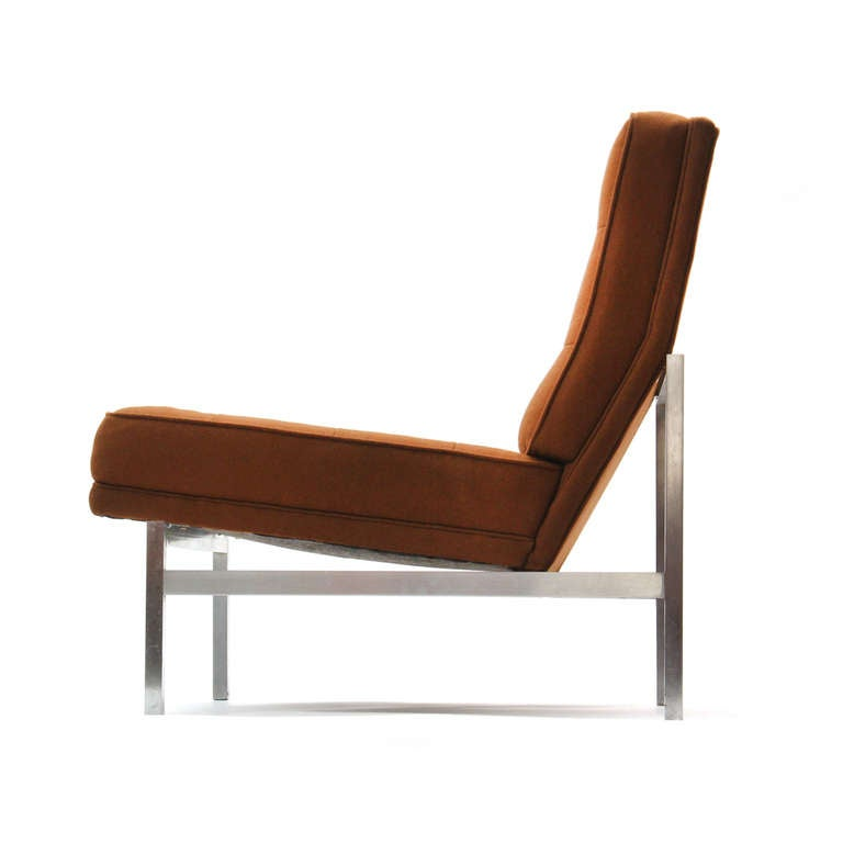 Mid-Century Modern 1960s Lounge Chair by Florence Knoll For Sale