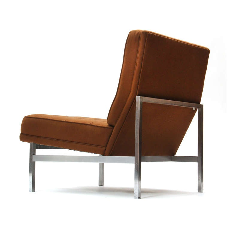 American 1960s Lounge Chair by Florence Knoll For Sale