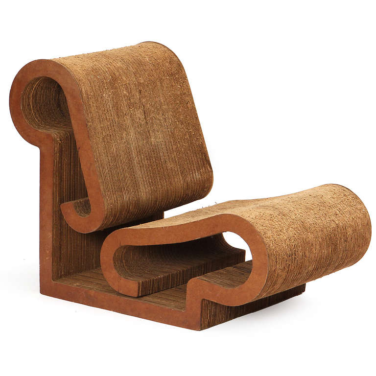 early easy edges lounge chair by frank gehry for sale at