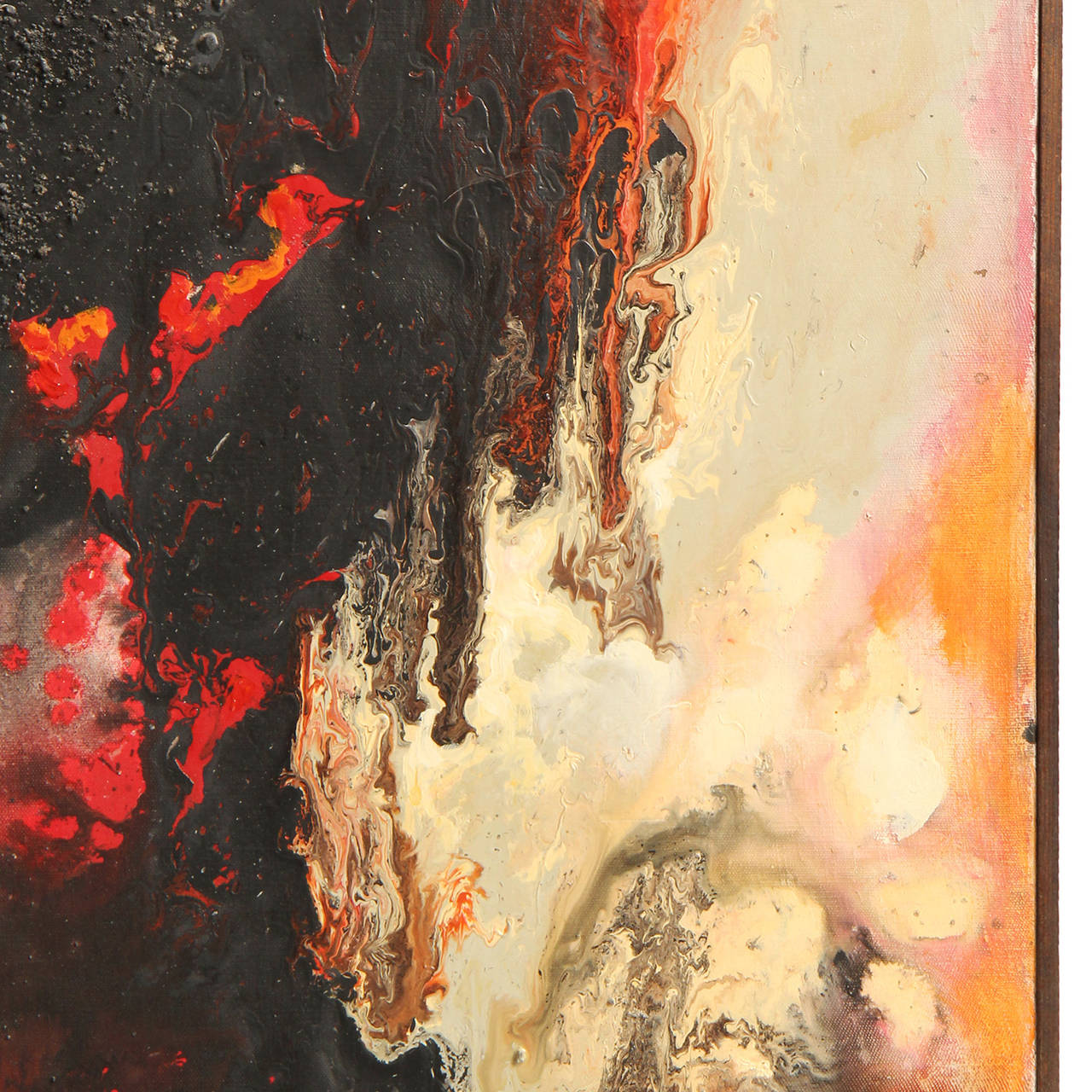 Mid-Century Modern Painting by Umberto Romano For Sale