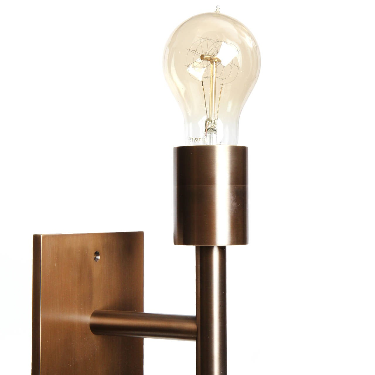 Double Light Wall Sconces : Double Wall Sconce by Wyeth For Sale at 1stdibs